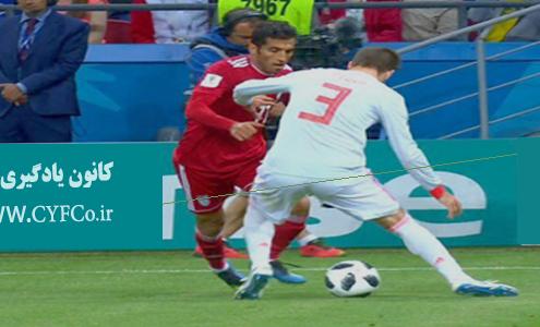 تحلیلی بر عملکرد بازیکنان در بازی ایران و اسپانیا